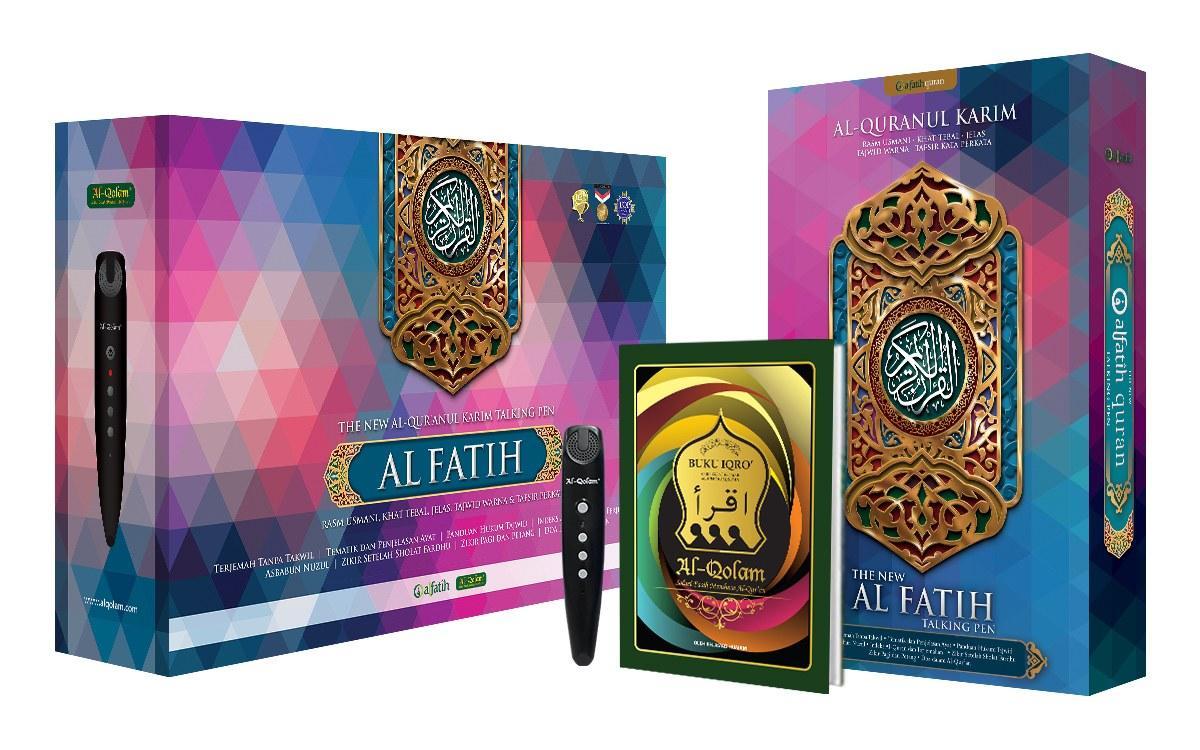 Al Quran Al Fatih, AlQuran Digital New AlFatih Talking Pen