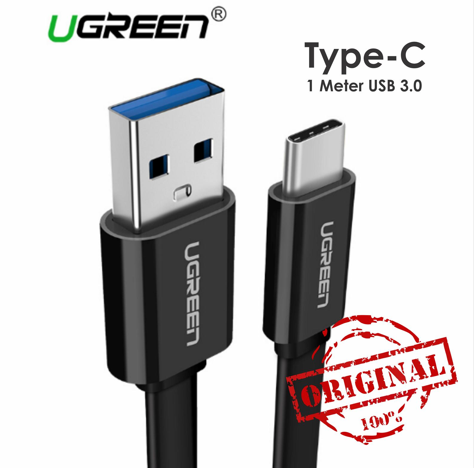 UGREEN Kabel Data 1M USB 3.0 Type C Cable ORIGINAL Fast Charging