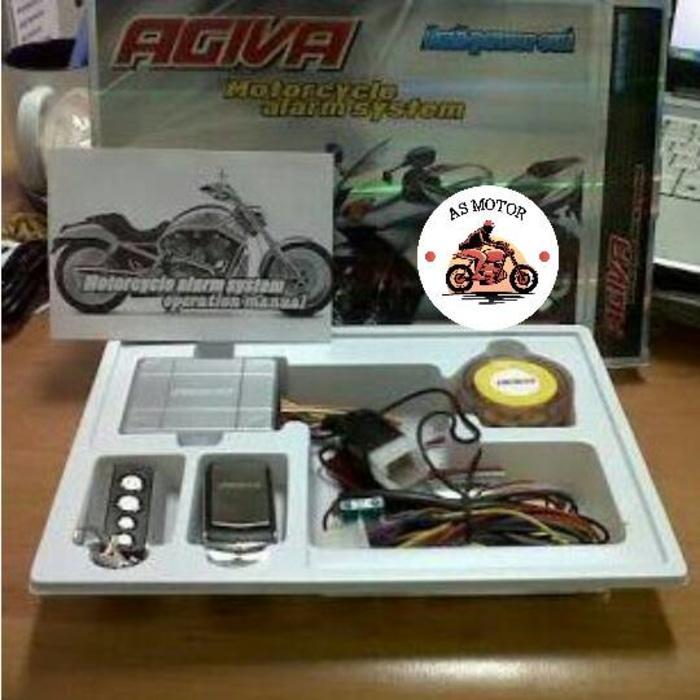 Alarm Motor AGIVA / Remote Alaram Agiva / Alarm AGIVA New - i7fdSa