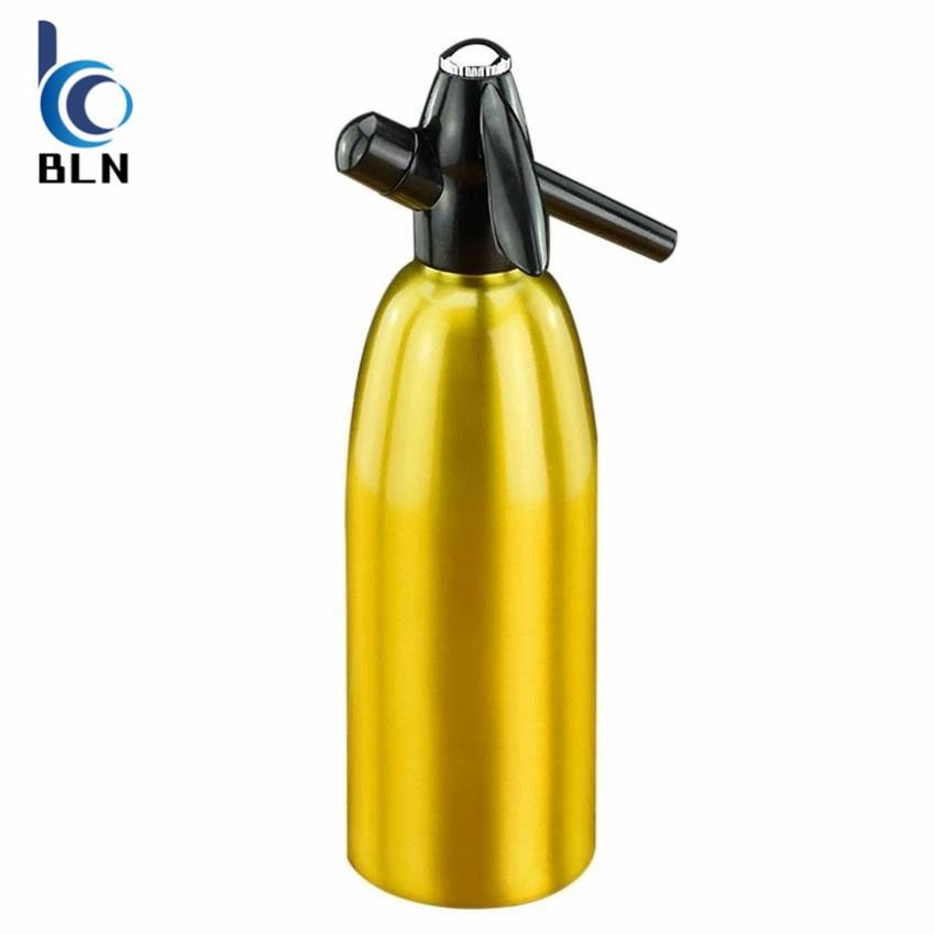 【BLN-Home】Home Made 1.0L Soda Siphon Aluminum Soda Water Machine Soda Maker