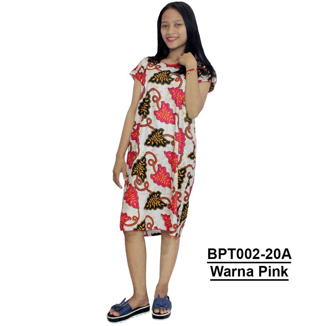 Midi, Daster Midi, Dress Santai, Baju Tidur, Piyama, Atasan Batik (BPT002-20) Batikalhadi Online