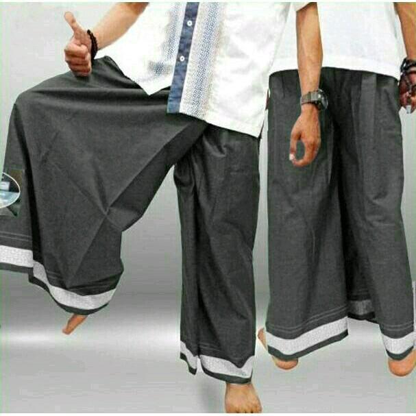 Celana Sarung Muslim Pria. Celana Sarung Peralatan Shalat Pria Mudah Di pakai dan nyaman. Promo Celana Sarung Termurah Lazada