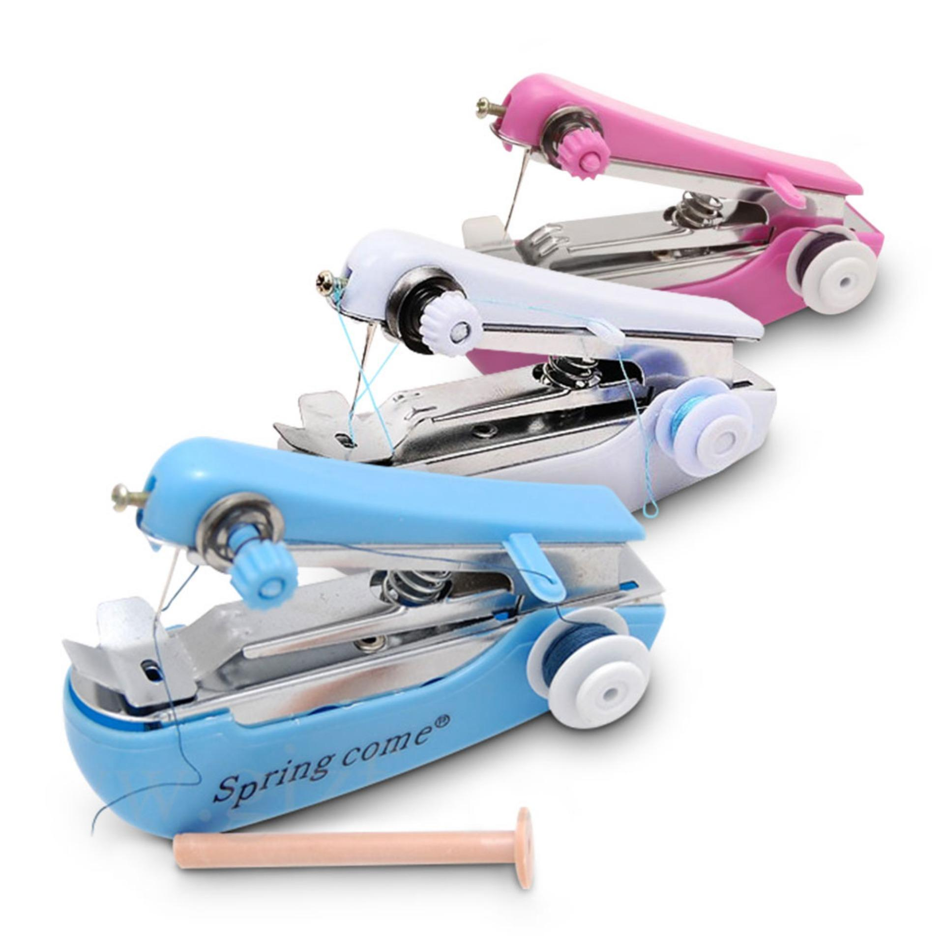 mesin jahit baju mini tangan / sewing singer staples