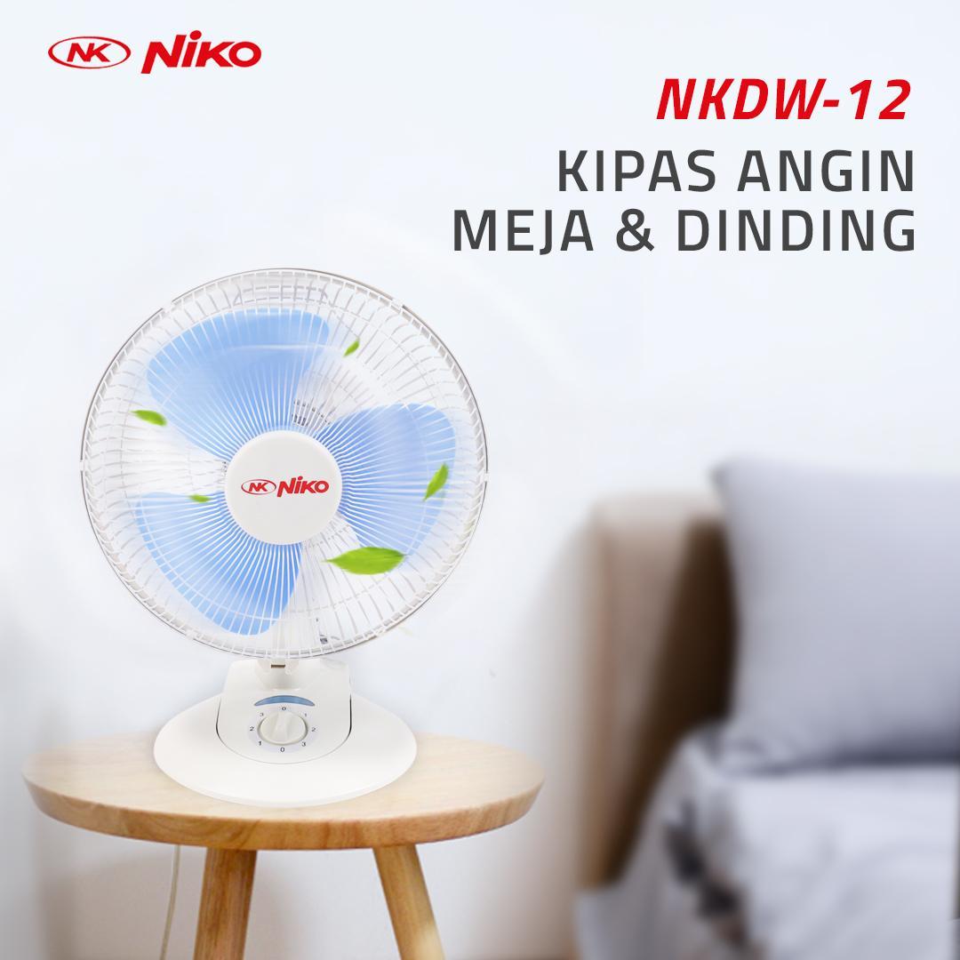 Niko Kipas Angin NKDW-12 - Kipas Angin Duduk-Dinding