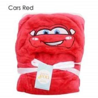 ... 3D Hoodie Blanket Tudung Selimut Topi. Source. ' Harga Penawaran GEMA Selimut Bayi Topi Double Fleece Carter - Cars Merah discount - Hanya Rp57