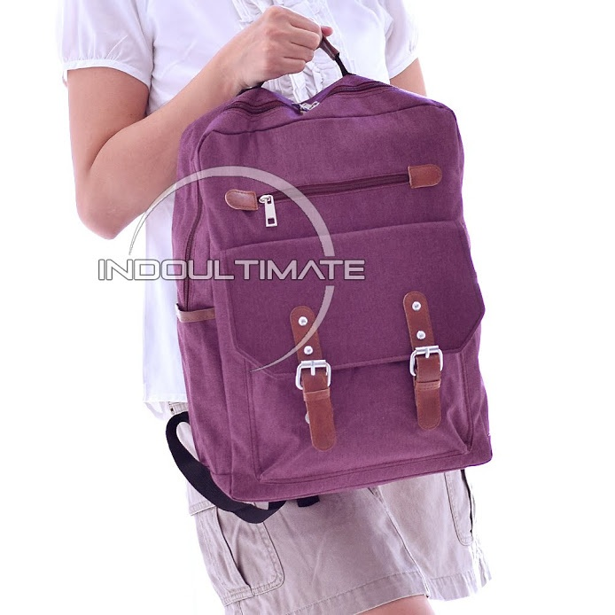 Ultimate Tas Backpack Pria Wanita Kanvas   Punggung   Ransel Kuliah    Backpack Laptop   Tas 6ffd1e4865