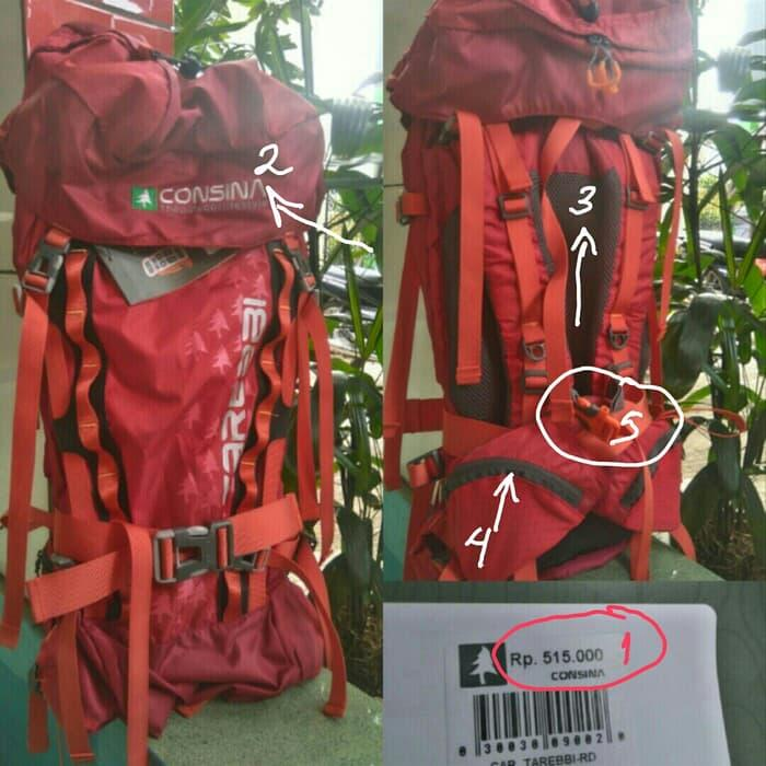 BEST SELLER!!! Tas Gunung/Carrier Consina Tarebbi 60L - D6onS3