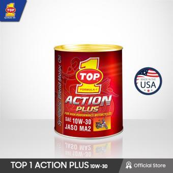 Hasil gambar untuk Top one Action plus 10W-30