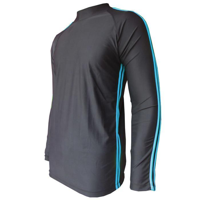 Baju renang atasan lengan panjang bahan lycra baju renang pria wanita - cyg37L