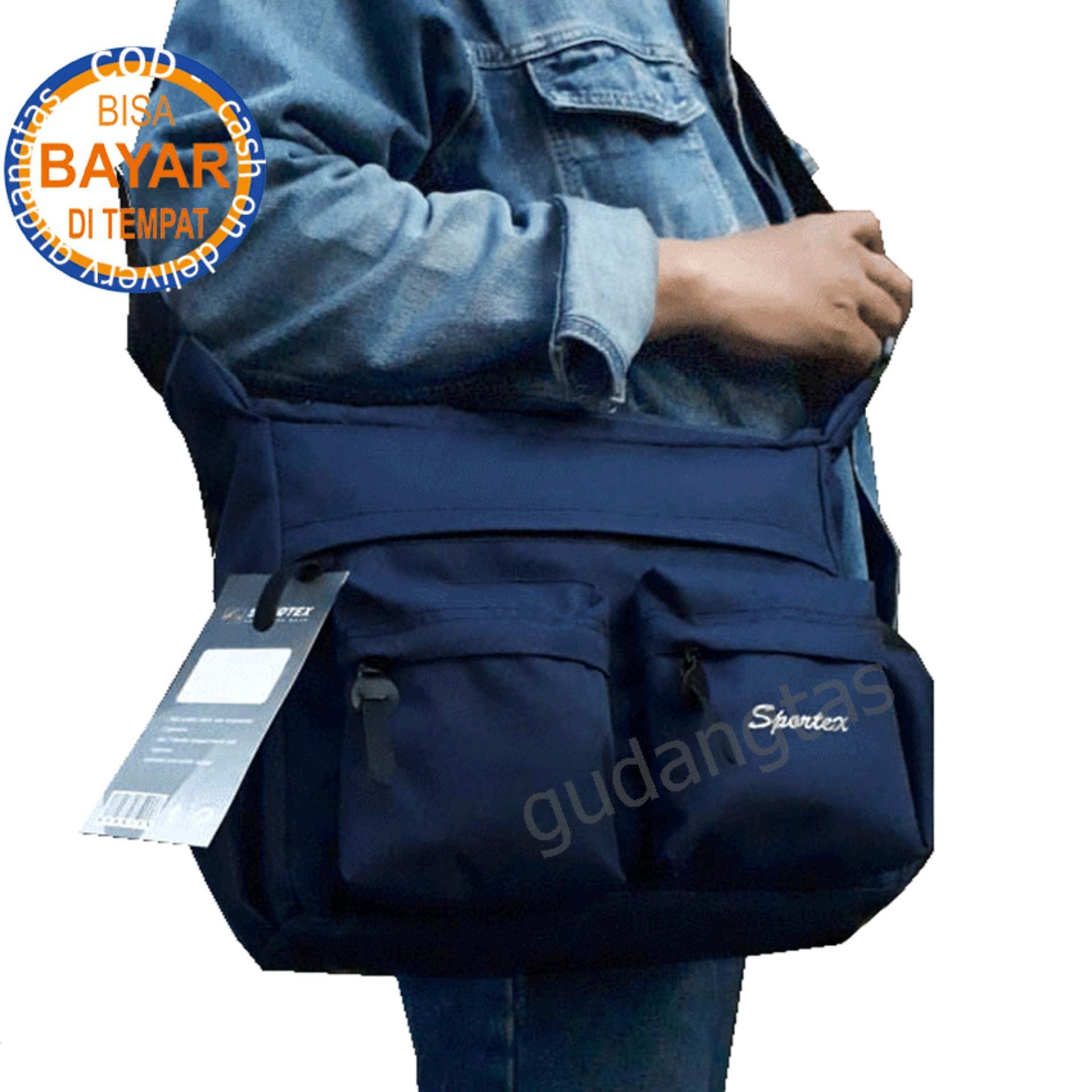 Kelebihan Sportex Tas Selempang Pria Sports Waist Bag Shoulder Waisbag Atau Crossbody Tote Cordura Gdt0885 Dongker