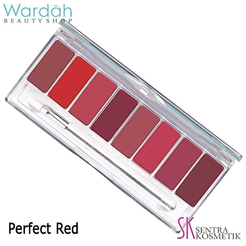Wardah Lip Pallete Perfect Red