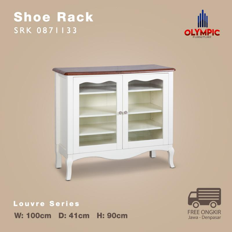 Olympic Louvre Series Shoe Rack Rak Sepatu European Style - SRK 0871133