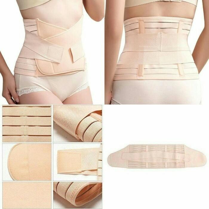 Pakaian Dalam Wanita Korset Stagen Tally Pengecil Perut - Hitam Murah - Bnfsdklgfs
