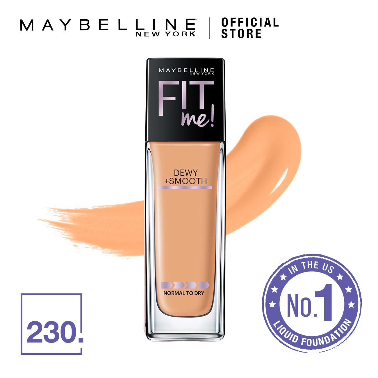 Maybelline Fit Me Dewy + Smooth Foundation - 230 Natural Buff
