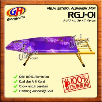 Harga preferensial Glory Home Meja Setrika Aluminium Mini - Ungu terbaik murah - Hanya Rp175.
