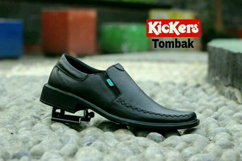 Promo Promo KICKERS pantofel Original kulit asli - Sepatu formal pria Diskon