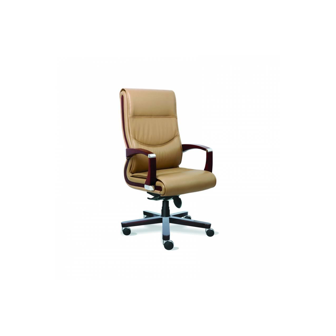 kursi kantor indachi tangan dan kaki kayu executive series