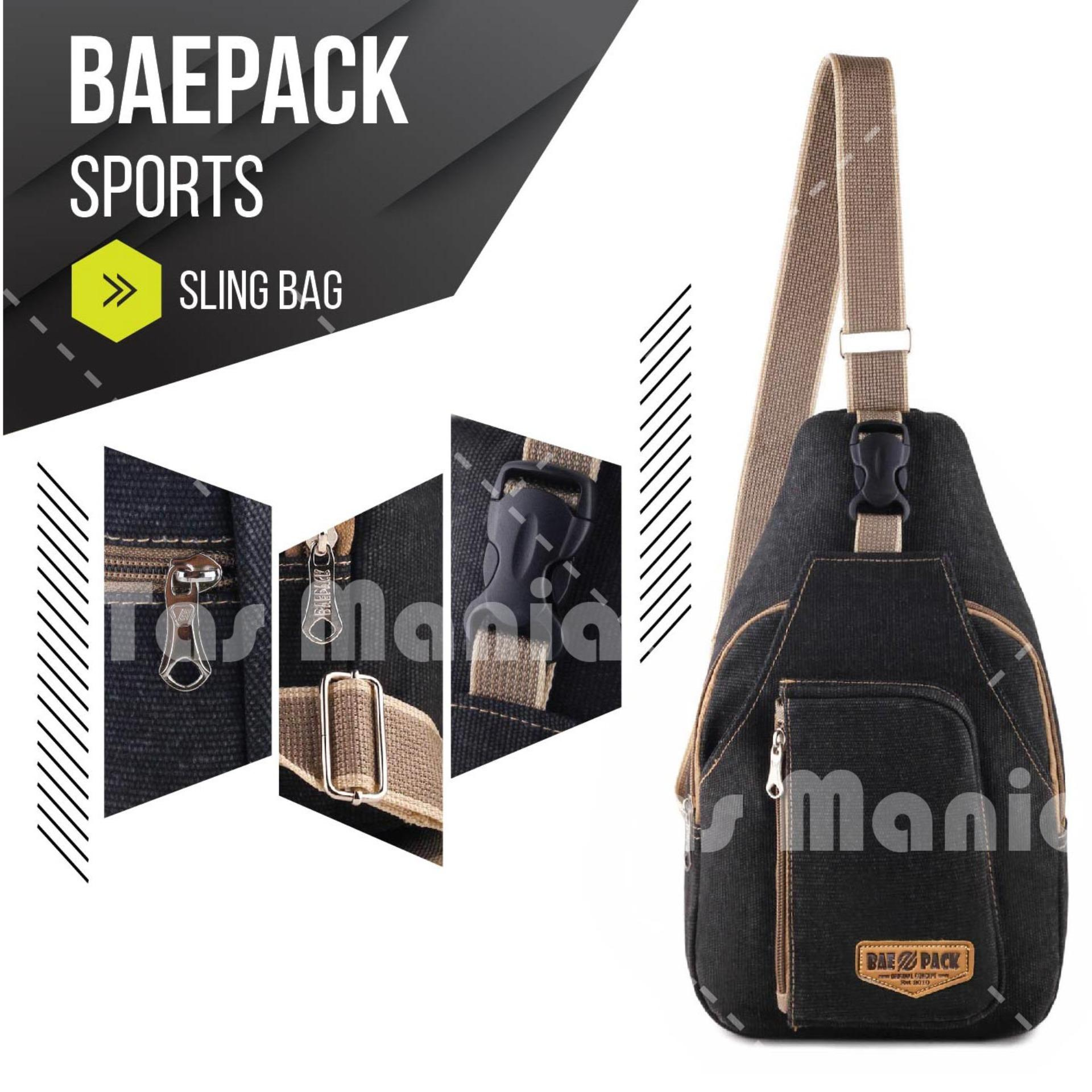Baepack Classic Canvas Multifunction Messenger Shoulder Bag Dark Source Tas Pria Men Vintage . Source ·