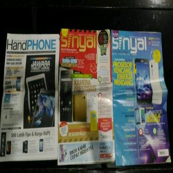 Paket Hemat Majalah Hp Second Jual borongan