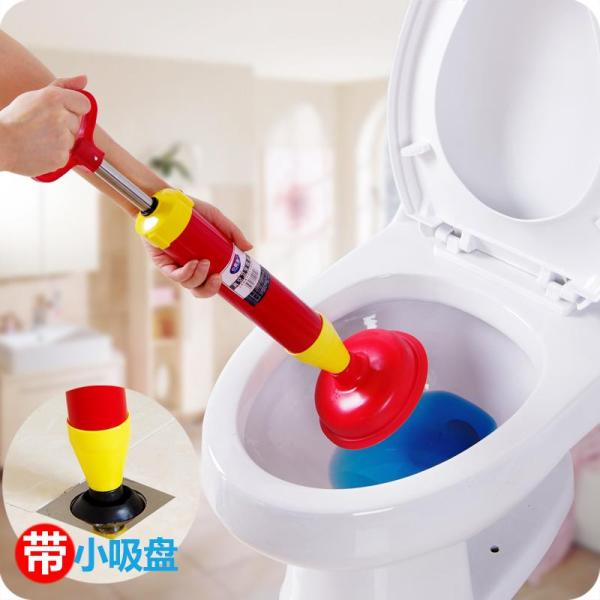 Gas Cylinder-Toilet Suck Toilet Pipe Dredger Toilet Plunger Household the Sewer Tool Water Absorption Rugulosa