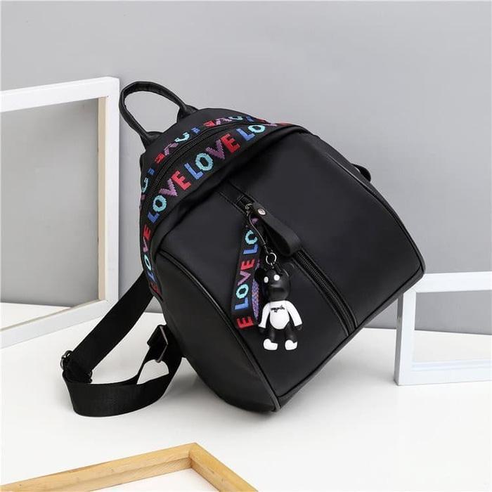 Gambar Produk Rinci Tas Ransel Wanita/Backpack Import Korean Model High Quality CS-LV 01 - nDnb6q Terkini