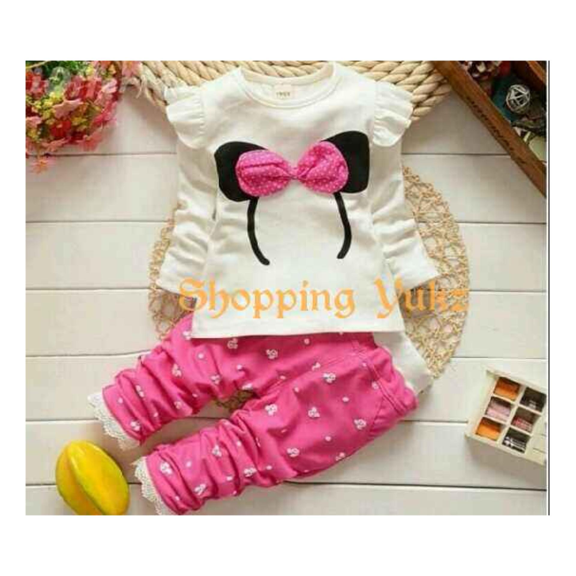 Harga Promo Dress Anak Sabrina Scuba Import Toko Online Laris Baju Setelan Flower Perempuan Shopping Yukz Atasan Dan Celana Cewek Bandana