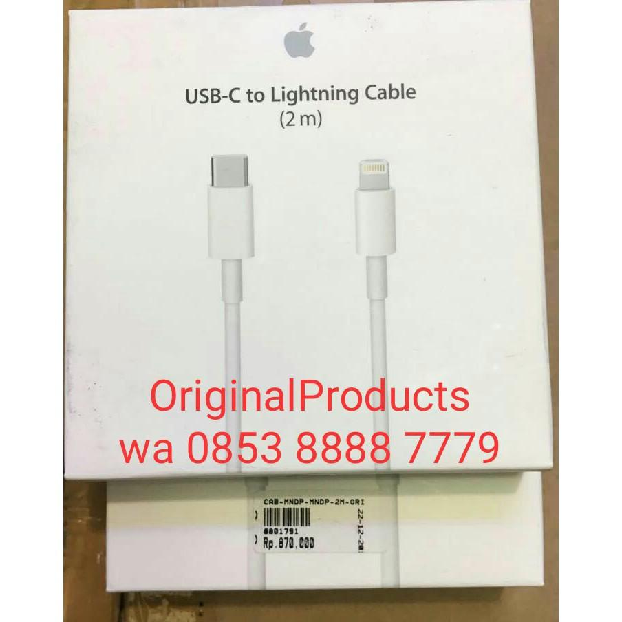 Buy Sell Cheapest New Bnib Iphone Best Quality Product Deals Apple 4 32gb Garansi 1 Thn Original 100 Black White 2m Lightning To Usb C Kabel Data Charger 7 6 6s