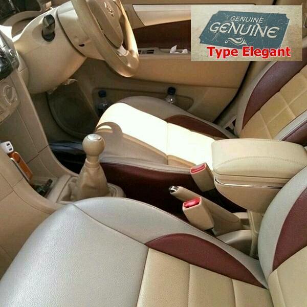 Suzuki Ertiga Armrest box type Superior Full Mbtech Led usb