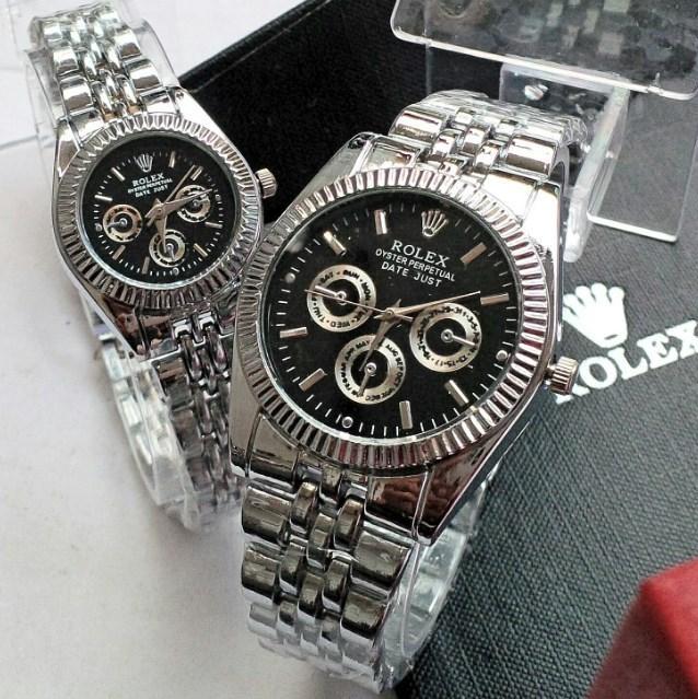 Jam Tangan Couple Rolex PUTIH