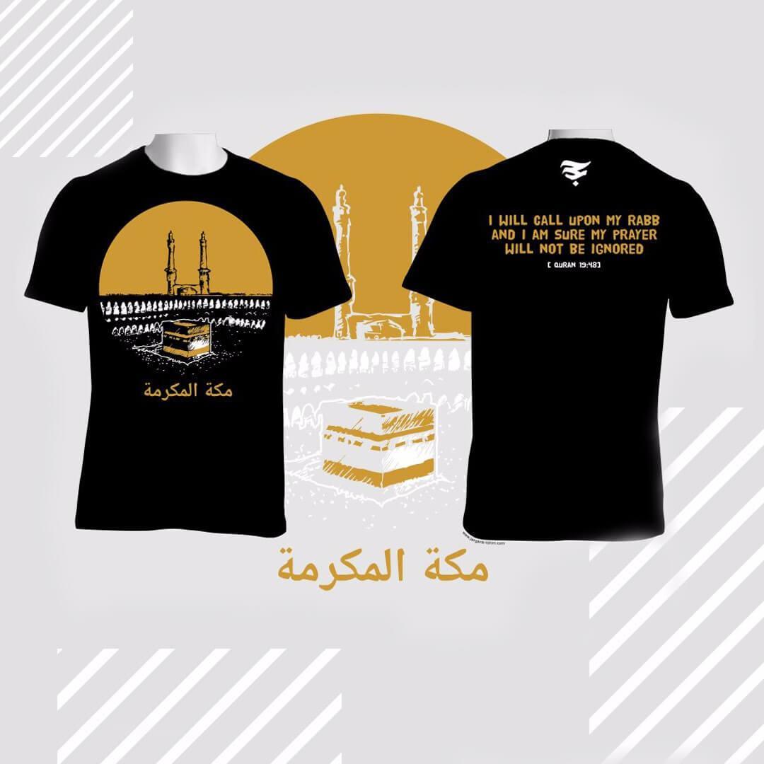 Kaos Distro Islami Baju Dakwah Alhajj Merch Mekah AM003