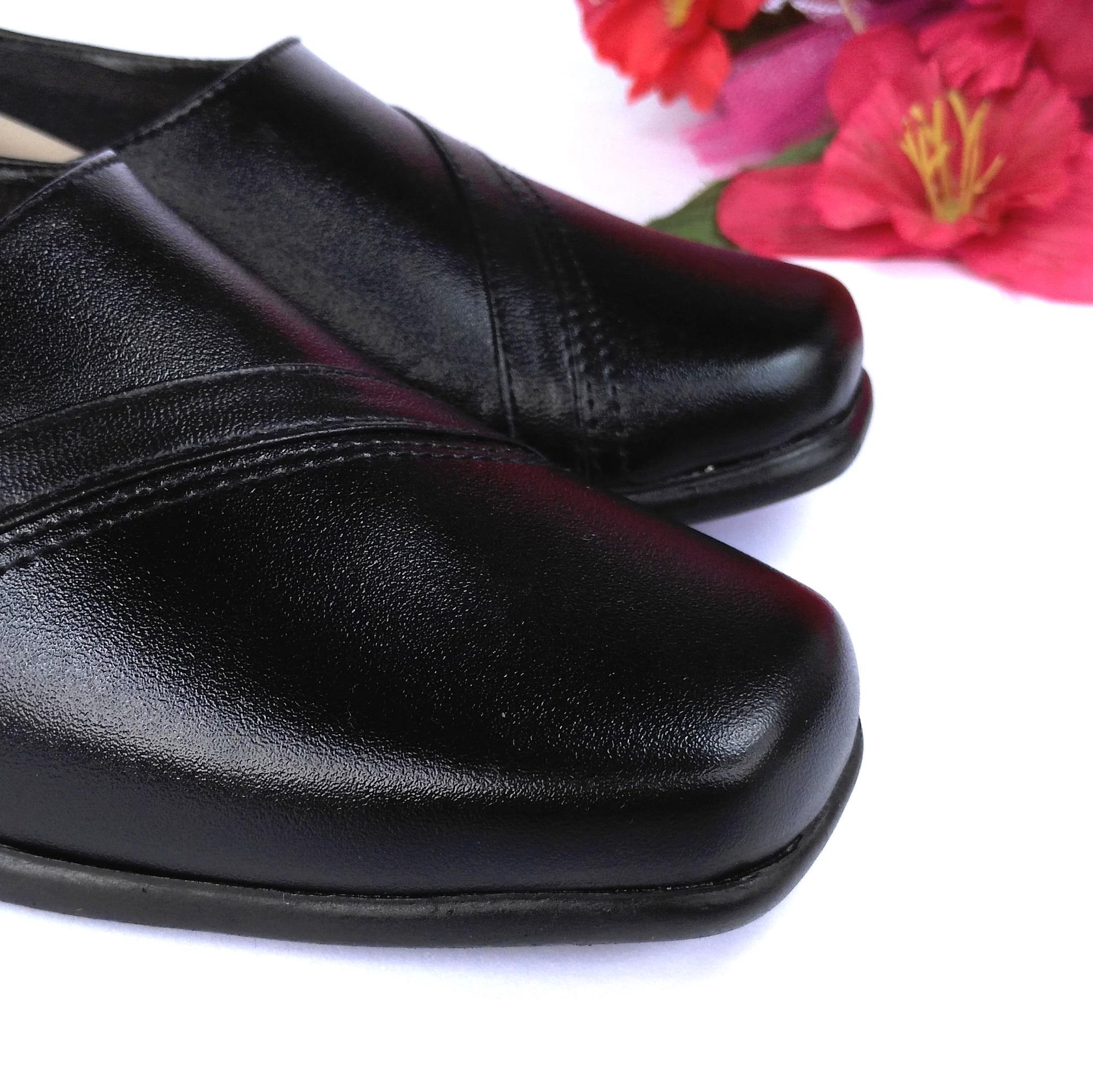 HQo Sepatu Pantofel Wanita / Sepatu Wanita Formal / Sepatu Pantofel Paskibra Wanita .