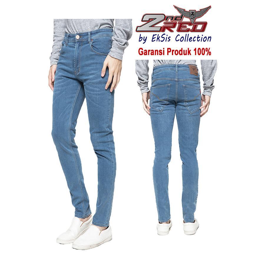 2Nd RED Celana Jeans Slim Fit Best Seller-Skinny Jeans Premium Eksis Collection