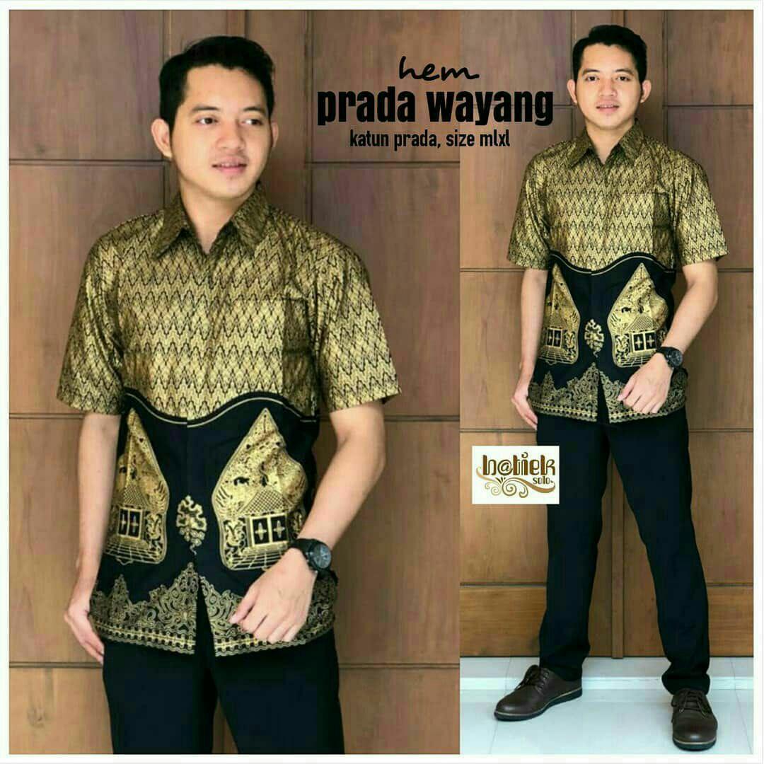 Kemeja Hem Batik Wayang Werkudara 04 Cek Harga Terkini Dan Lengan Pendek Hks001 03 Batikmodern Kemaja Modern Pria Prada