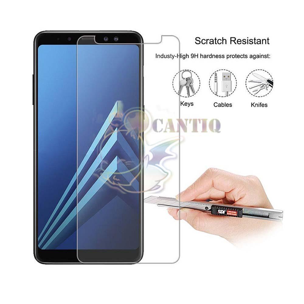Detail Gambar QCF Tempered Glass Samsung Galaxy A6 2018 / Anti Gores Kaca Samsung Galaxy A6