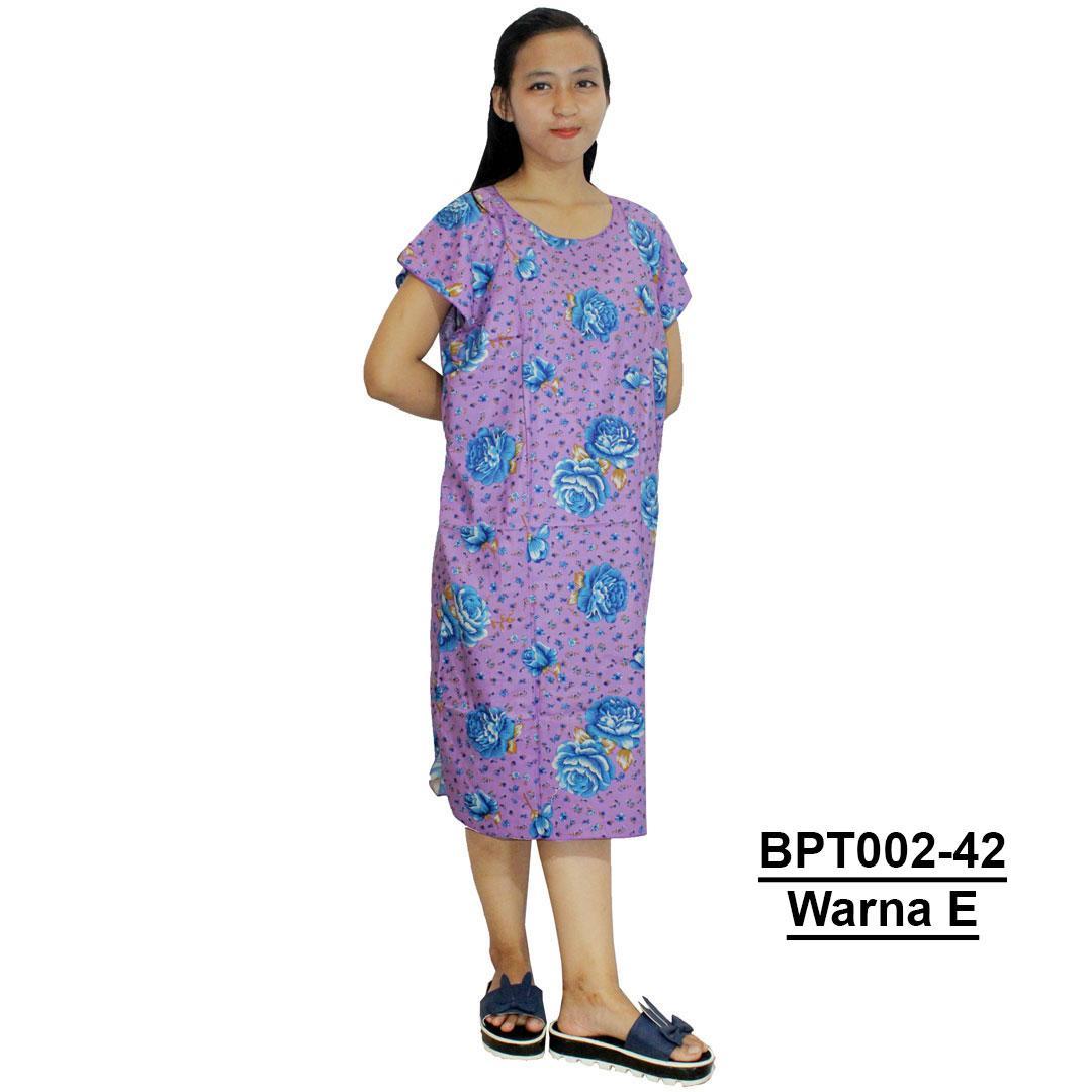 Midi, Daster Midi, Dress Santai, Baju Tidur, Piyama, Atasan Batik (BPT002-42) Batikalhadi Online