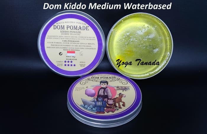 BEST SELLER!!! Dom Pomade Kiddo Kid Waterbased Water Based Untuk Anak (FREE SISIR) - gJcEIA