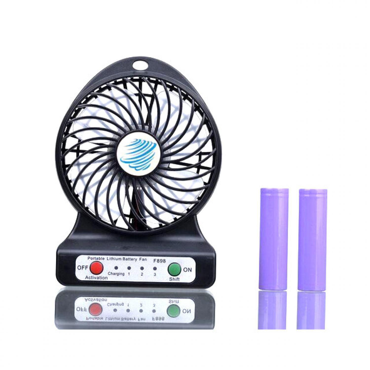 Multifunction USB Mini Fan + Power Bank 6000mAh | Komputer
