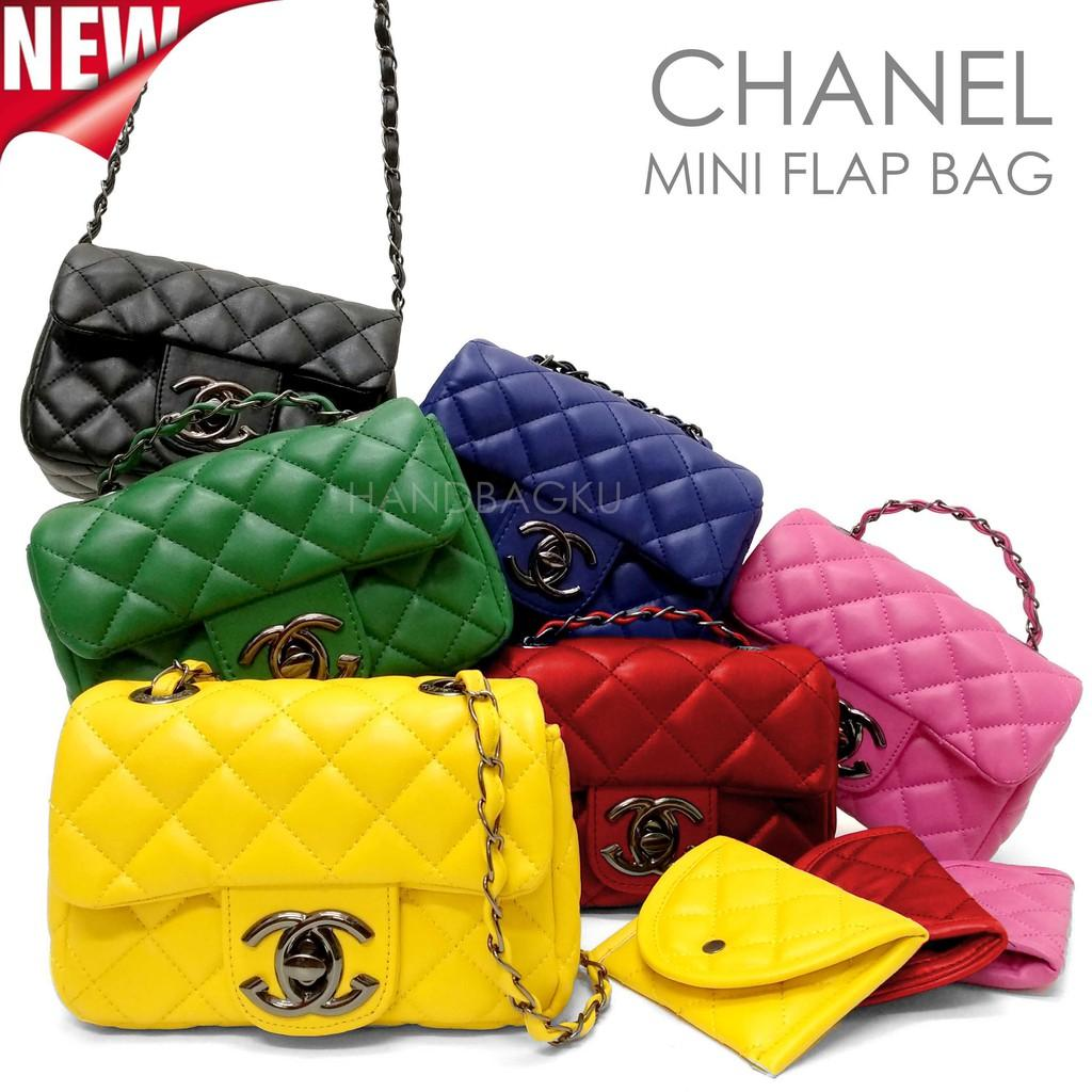Cek Harga Baru Tas Selempang Tali Rantai Wanita Branded Chanel Boy ... 1409afac18