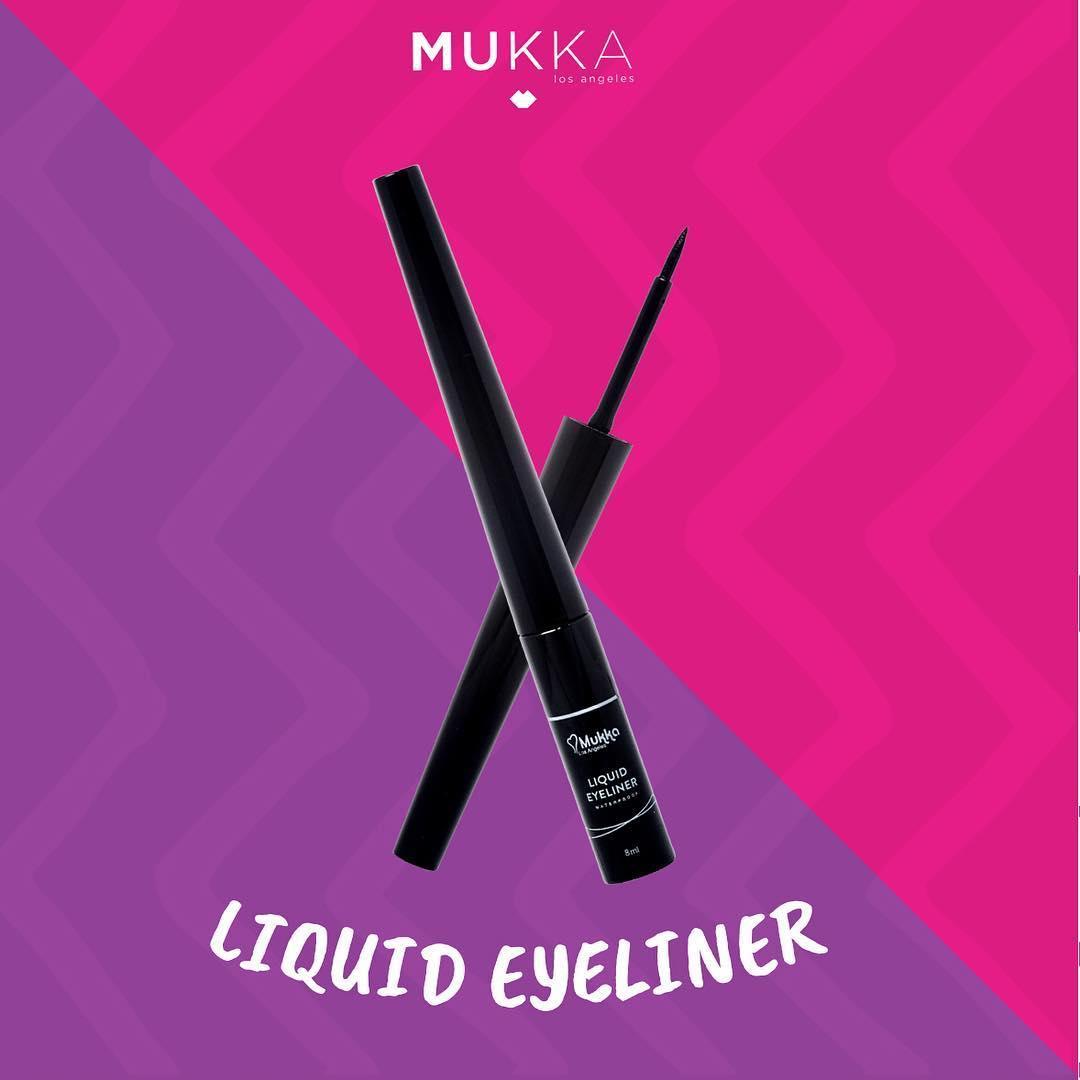 MUKKA EYELINER LIQUID WATERPROOF E02
