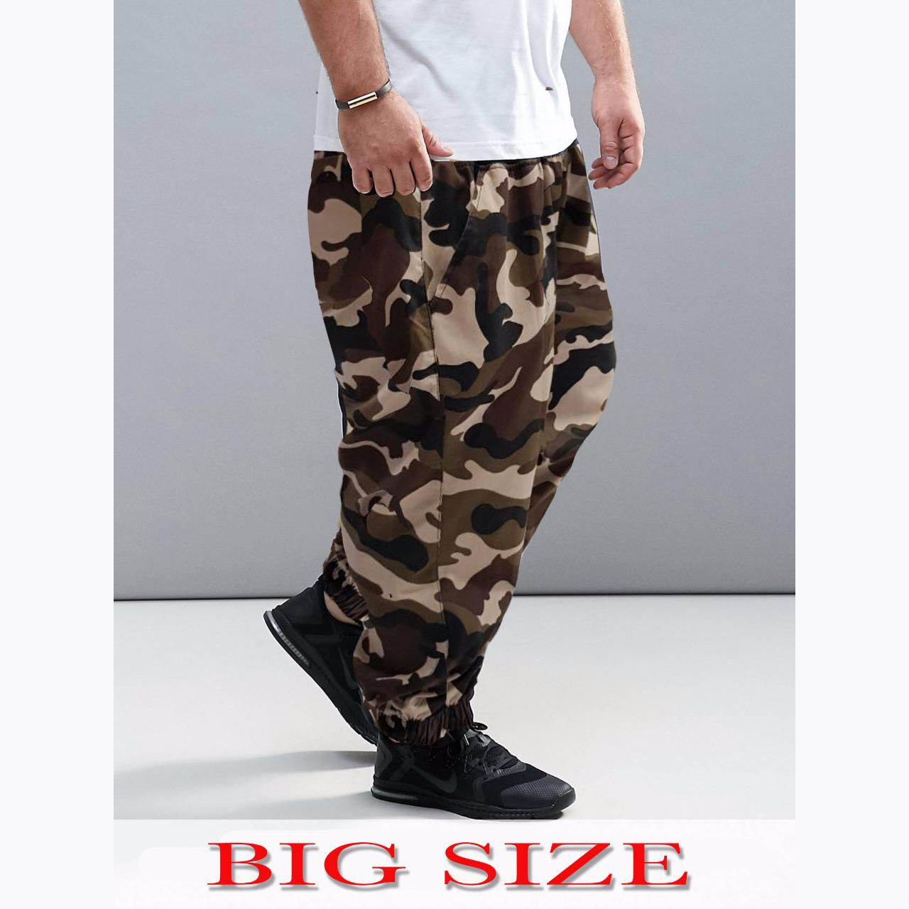 Jfashion Celana Jogger Training Panjang Pria Basic Brooklyn Spec Felix Jumbo Joger Olahraga Big Size Gambar Produk Rinci Corak Army Men