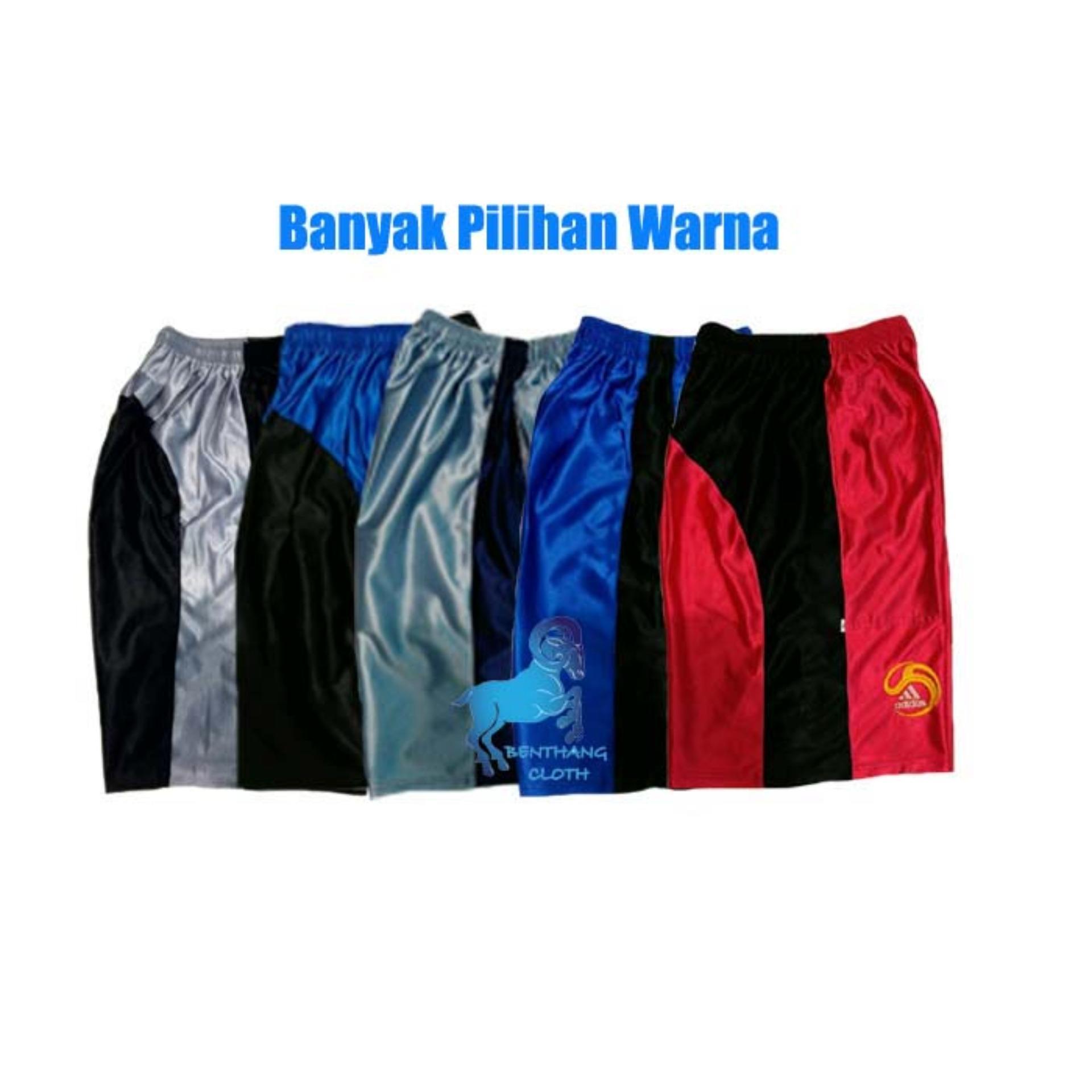 Paket 3pcs - Celana Pendek Kolor Olahraga Celana Santai Boxer Paragon - Size L