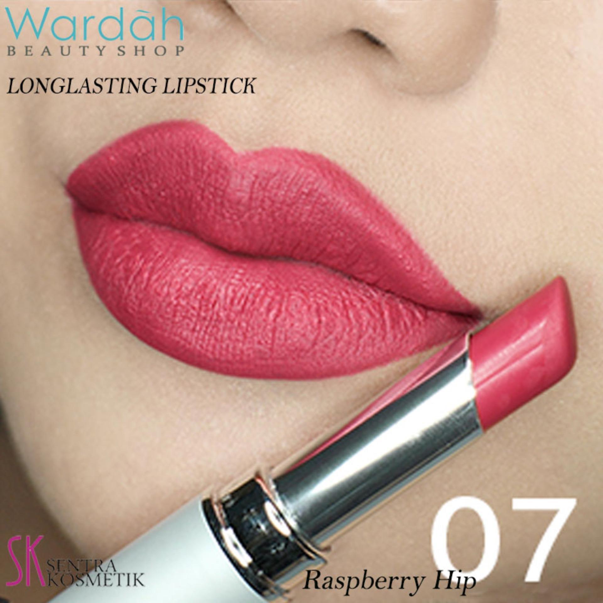 Wardah LONGLASTING Lipstick No.07 Raspberry Hip