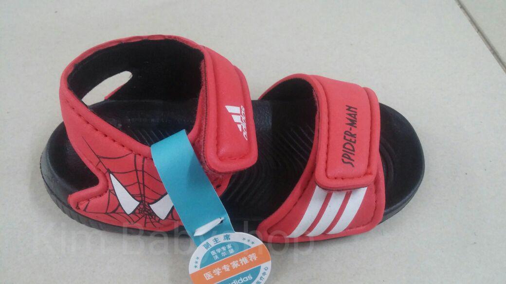 Sepatu sandal anak impor Adidas karakter