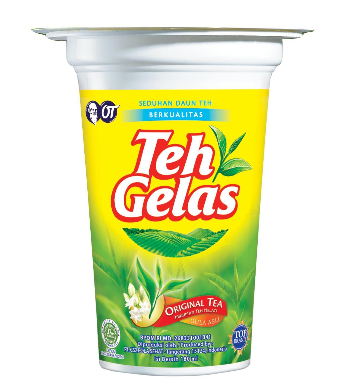 Teh Gelas CUP Original (1 Karton isi 24 cup)