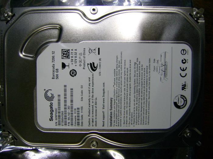 ORIGINAL - Harddisk Internal Seagate 500GB SATA