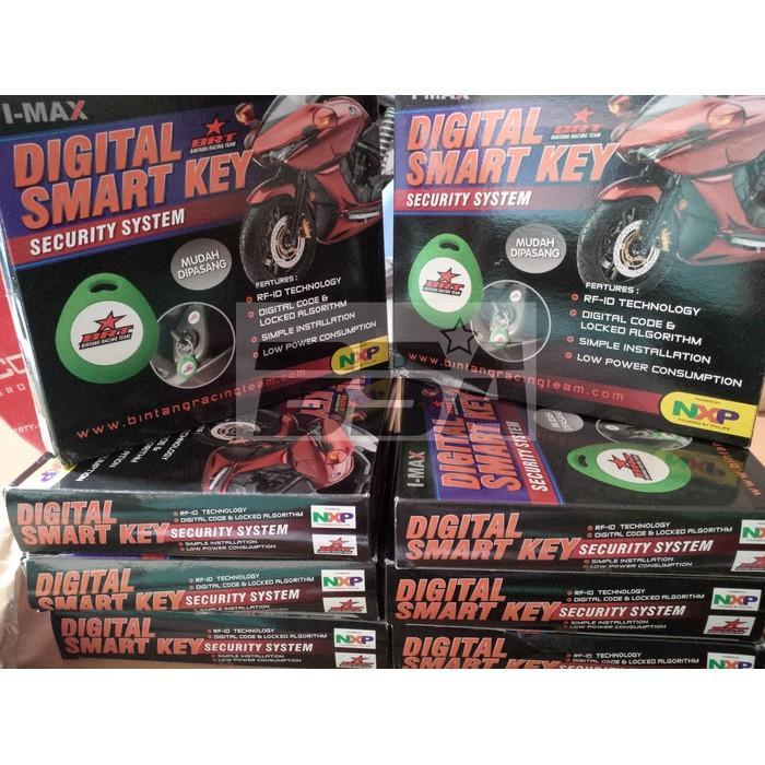 Alarm Motor Digital Smartkey Brt Yamaha Nmax - Dgnsg Dksjfbas