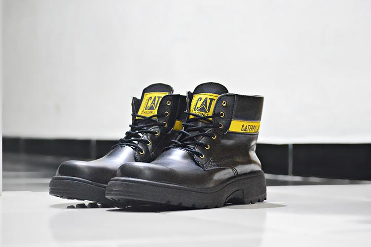BEST SELLER !!! Sepatu Pria Caterpillar Safety Boots ORIGINAL High Quality SAFETY TOE