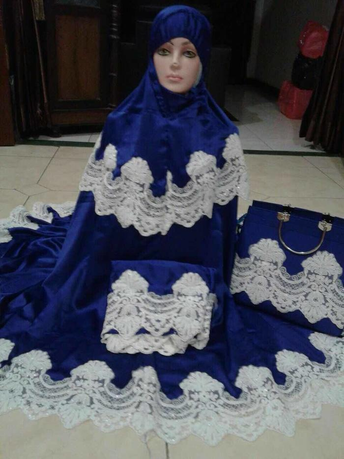 Mukena Sutra Mewah Prada Princess Maxmara Premium ( Mahar & Lebaran )
