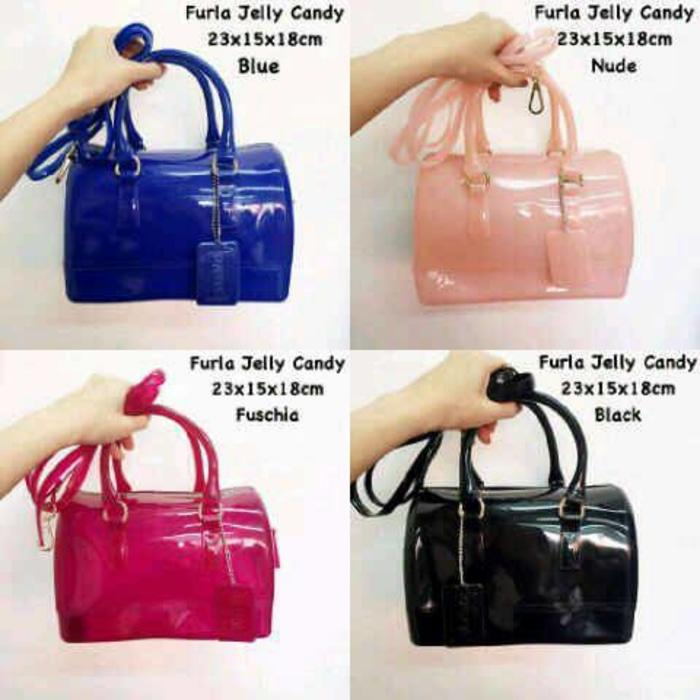 TAS FURLA JELLY CANDY MINI - 8IkstM