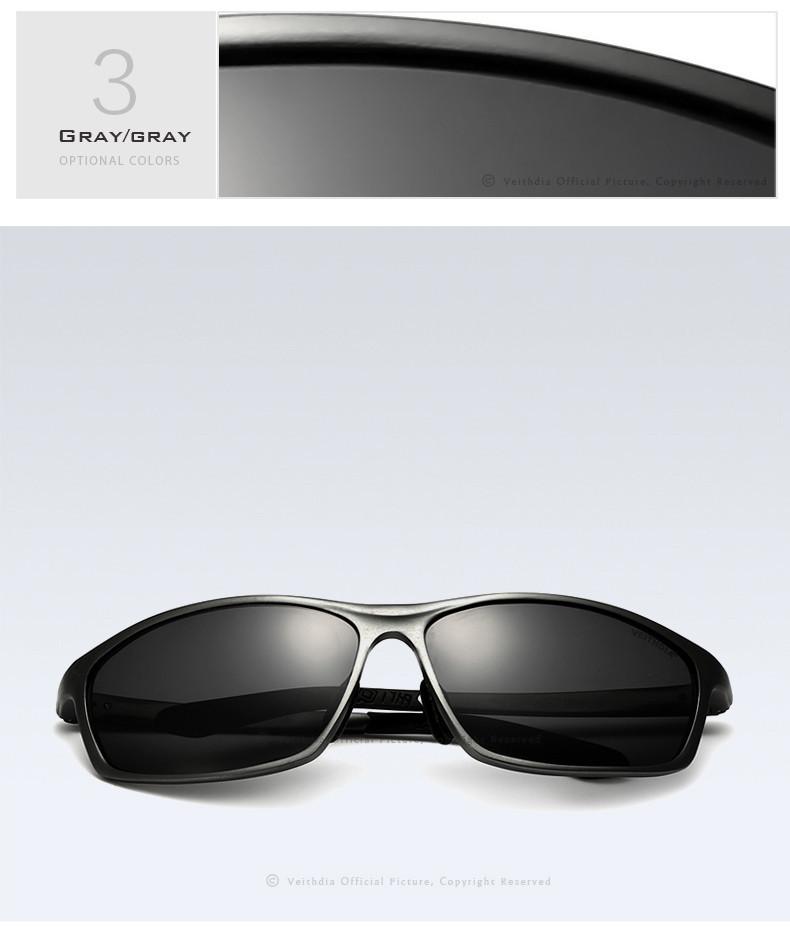 Spesifikasi dari VEITHDIA Men's Polarized Sunglasses Sunglass Eyewear Men Sun Glasses 6520. Merek